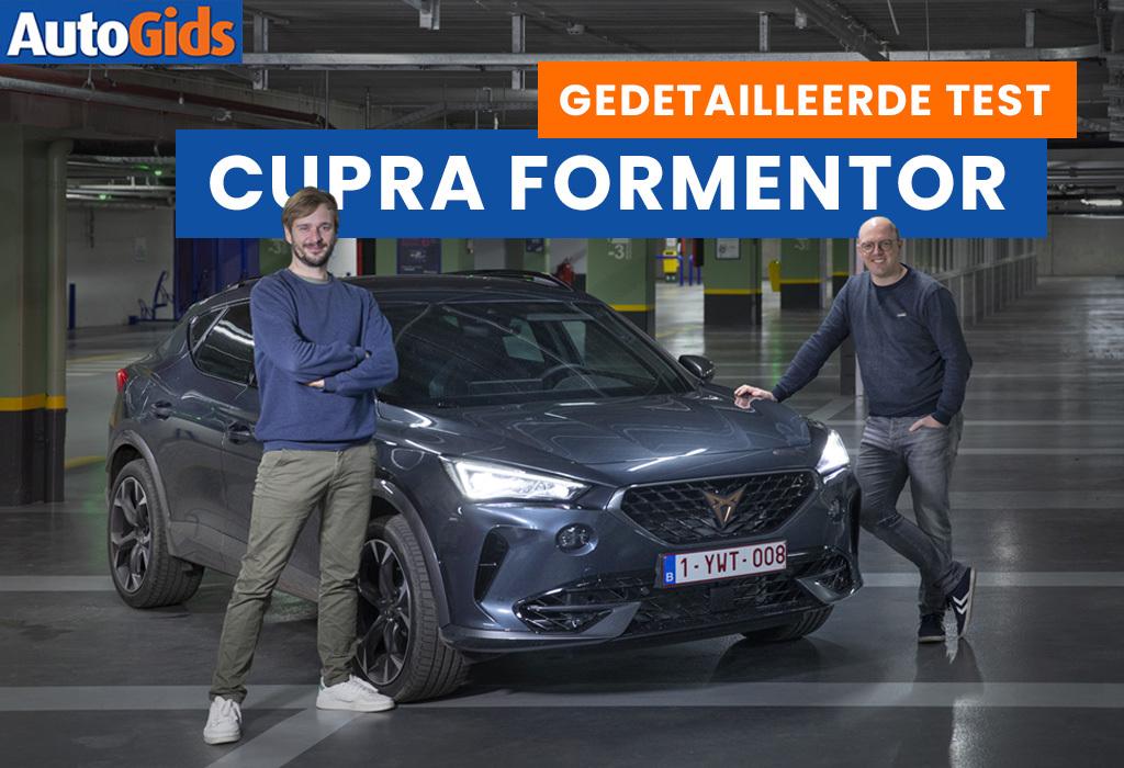 Wegtest Cupra Formentor (video)