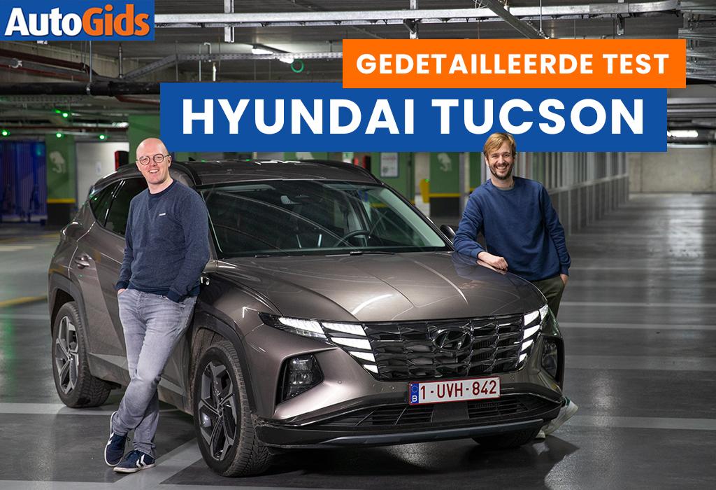 Wegtest Hyundai Tucson (video)