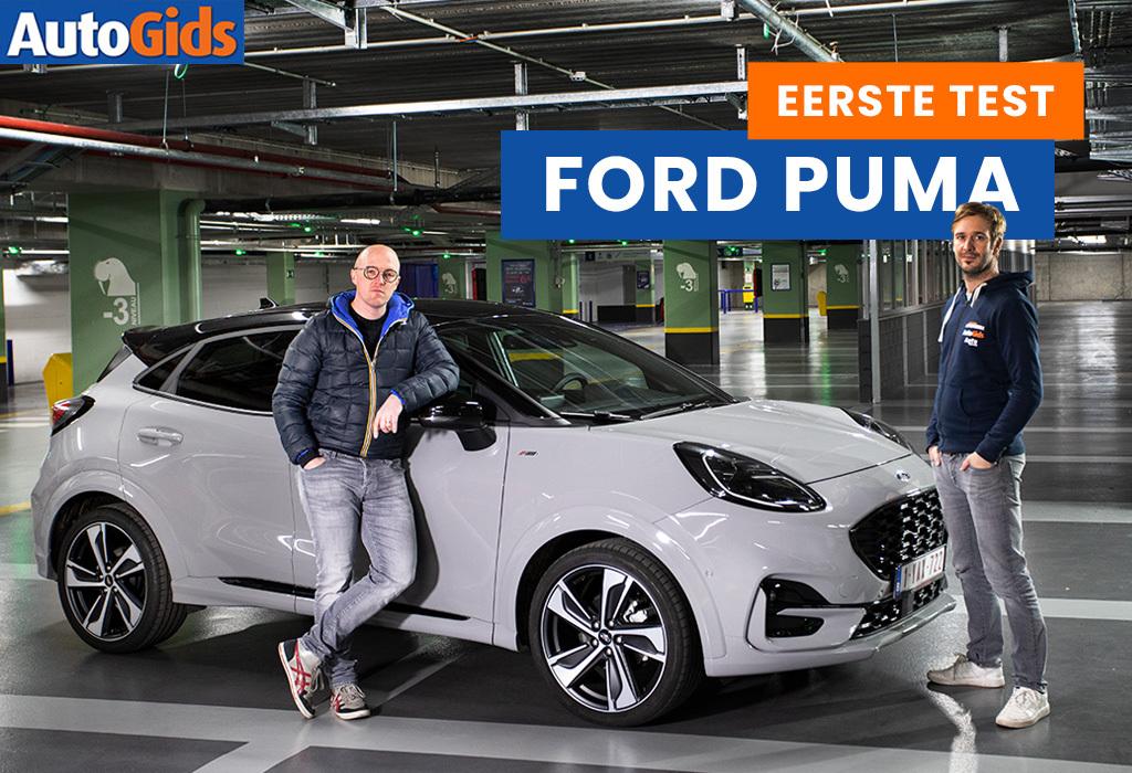 Wegtest Ford Puma (video)