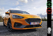Ford Focus ST: orange sanguine