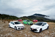 Ford Focus RS, Renault Mégane RS Cup, Volkswagen Scirocco R, Seat Leon Cupra R, Mazda 3 MPS : Le gang des tractions