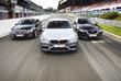 BMW M5, Jaguar XFR & Mercedes E 63 AMG : Gros calibres