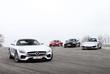Audi R8 V10, Jaguar F-Type R, Mercedes-AMG GT S en Porsche 911 Turbo S : Appellation d'origine contrôlée