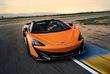 McLaren 600LT Spider : Scalpel sans scalp