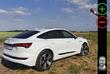 Audi E-tron Sportback: avantages et inconvénients