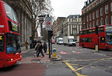 Centre-ville de Londres dans la zone de Congestion Charge