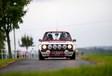 Le trio Ford Escort Belga Team à l'Eifel Rally #1