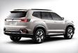 Subaru Viziv-7 SUV is voorloper cross-over met zeven zitplaatsen #2