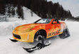 Natuurlijk kan je op skivakantie met een Nissan 370Z Cabrio #5