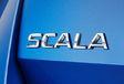 Škoda Scala: geletterde Tsjechische berline #1