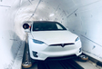 VIDEO - Door de eerste Boring Company-tunnel met Tesla Model X #1