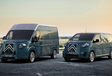 Tenue rétro pour les Citroën SpaceTourer et Jumpy