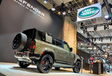 Land Rover Defender Brussels Motor Show 2020