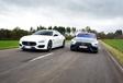 Maserati Quattroporte vs Mercedes-AMG GT 4 portes #1