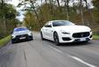 Maserati Quattroporte vs Mercedes-AMG GT 4 portes #3
