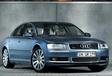 Audi A8 4.2 Quattro face à la BMW 545i et à la Mercedes E500 #2