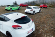 Ford Focus RS, Renault Mégane RS Cup, Volkswagen Scirocco R, Seat Leon Cupra R, Mazda 3 MPS : Le gang des tractions #2