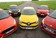 Citroën DS3 Racing, Ford Fiesta ST,Peugeot 208 GTi, Renault Clio R.S. etSeat Ibiza SC Cupra : 5 bombinettes au pied levé #1