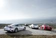 Audi R8 V10, Jaguar F-Type R, Mercedes-AMG GT S et Porsche 911 Turbo S : Grands crus #3