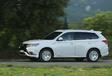 Mitsubishi Outlander PHEV : évolution douce #26