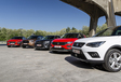 Seat Arona vs 4 petits SUV à essence #1