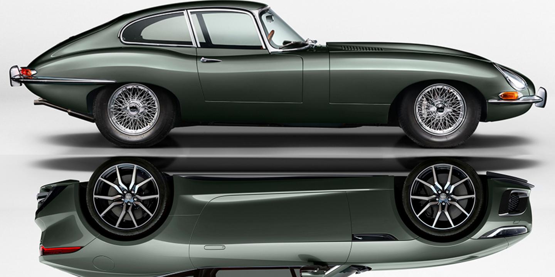 Jaguar F-Type Heritage 60 Edition eert legendarische E ...