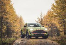 In aanloop naar de lancering eind 2019 begint de SUV van Aston Martin aan een intensief ontwikkelingsprogramma. De cross-over heet gewoon DBX en niet Varekai.