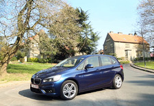 La BMW Série 2 Active Tourer s'insère dans le segment des monospaces de gamme moyenne. Avec un certain talent d'ailleurs.