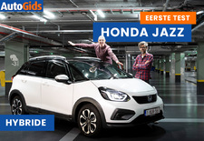 AutoGids test de nieuwe Honda Jazz Hybrid als avontuurlijke Crosstar. Bekijk de video!