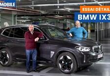 Le Moniteur Automobile teste la BMW iX3, un SUV électrique de 286 ch, doté d'une batterie de 80 kWh et d'une autonomie WLTP de 460 km. Regardez la vidéo !