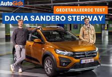 AutoGids test de nieuwe Dacia Sandero als avontuurlijke Stepway. Bekijk onze video van de budget-Renault met SUV-allures.