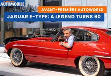 AutoWorld Brussels célèbre les 60 ans de la Jaguar Type E. Nous y avons déjà jeté un coup d'œil : découvrez la vidéo !