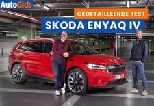 AutoGids test de 2021 Skoda Enyaq iV. Bekijk onze video review van de elektrische SUV die nauw verwant is met de Volkswagen ID.4.