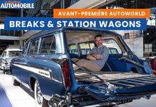 Autoworld rend hommage à ces voitures aux longs coffres qui nous arrivèrent des Etats-Unis dans les années '50-'60 et qui firent fureur dans nos pays durant quelques temps.