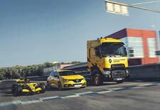 Zeg Renault Sport en we denken aan de Mégane RS. Of aan hun F1-bolide. Maar niet aan een vrachtwagen. En toch...