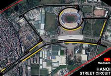 In 2020 verwelkomt de Formule 1-kalender de Grote Prijs van Vietnam, die verreden wordt op het stratencircuit van Hanoi. Bekijk de 5,565 kilometer lange omloop in de video.