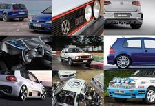 De VW Golf mag 45 kaarsjes uitblazen en dat moet gevierd worden. Met een aantal hoogtepunten, bijvoorbeeld. Onze 10 om te zien!