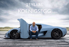 In 1994 stampte de toen 22-jarige Christian von Koenigsegg zijn eigen merk uit de grond, nu 25 jaar later spellen zijn hypercars zelfs Bugatti de les. Een terugblik, van de CC tot en met de Jesko.