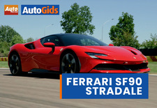 AutoWereld reed met de 1.000 pk sterke SF90 Stradale, de plug-inhybride supersportwagen van Ferrari. Bekijk de video!