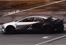 Tijdens testwerk op het circuit van Laguna Seca heeft de elektrische Lucid Air Tri Motor een rondetijd neergezet die vergelijkbaar is met die van een Ferrari 488 GTB en zelfs een McLaren P1 of Porsche 918 Spyder. Bekijk de video!