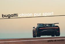 Bugatti legt de laatste hand aan de productieversies van de Chiron Pur Sport. En daarbij schuwen ze het hardere circuitwerk niet, zoals blijkt uit deze beelden vanop de Pista di Nardo. Bekijk de video!