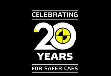 De Euro NCAP-crashtesten zijn 20 jaar oud, een periode waarin de veiligheid bij auto's er met rasse schreden op vooruit ging. Hoeveel zie je in dit filmpje.
