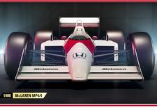 Elk jaar brengt Codemasters een nieuwe F1-racegame op de markt. Die van 2017 introduceert legendarische racewagens van McLaren, Ferrari en Williams, zodat je jezelf Senna, Schumacher of Mansell wagen kan.