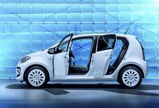 GROTERE FAMILIE: Volkswagen Up ook als vijfdeurs