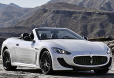 Maserati mixt GranCabrio met MC Stradale