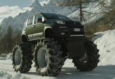 ALS MONSTERTRUCK: Fiat Panda 4x4
