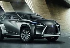 KLEINERE RX: Lexus LF-NX