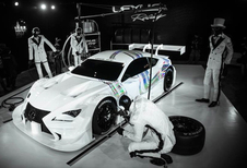 Lexus RC F GT500 is up all night to get lucky