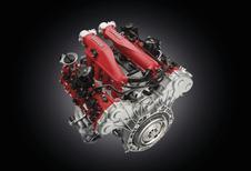 Ferrari schroeft een turbo in de California