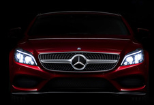 Mercedes 'plaagt' met slimme lichten van opgefriste CLS